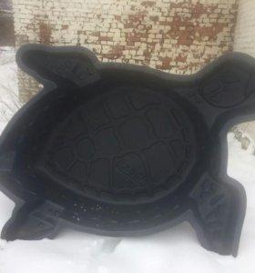 Пруд на дачу черепаха