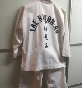 Добок ( кимоно) для тхэквондо на ребёнка