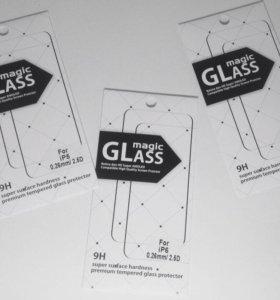 Защитное стекло для IPhone,Xiaomi и Meizu