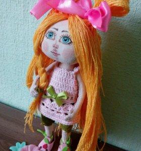 Куколка текстильная ручной работы