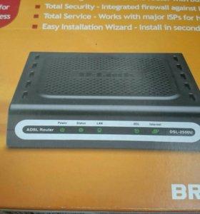 Маршрутизатор D-Link DSL-2500U (БЕЗ Wi-Fi!)
