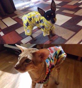 Шью одежду для собак и кошек.