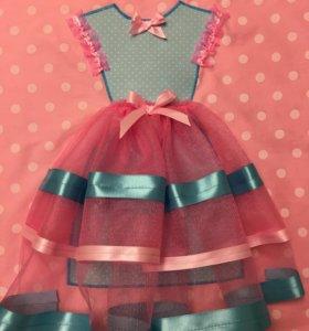 Декоративная наволочка платье