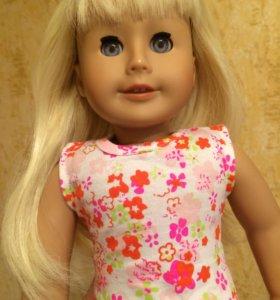 Новая виниловая кукла 46 см