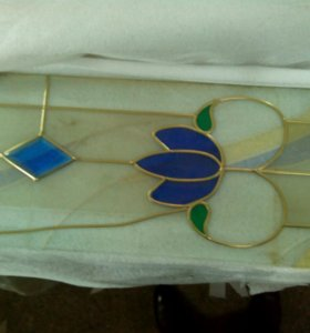 Декоративное стекло на кухню
