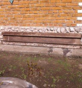 Ящик железный сборно-разборный для стройки