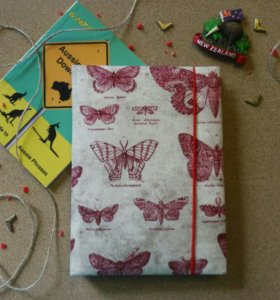 Блокнот ручной работы - оригинальный подарок
