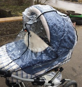 Дождевик универсальный на коляску люльку