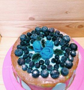Вкусные и красивые торты, капкейки, десерты