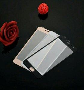 Защитное стекло на Meizu M3 note