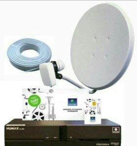 НТВ + HD спутниковое тв