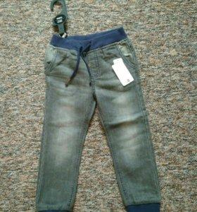 Новые джинсы Pepco 3-4года