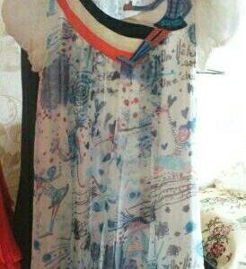 Платье сарафанчик оригинального дизайна