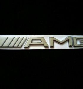 Наклейка AMG