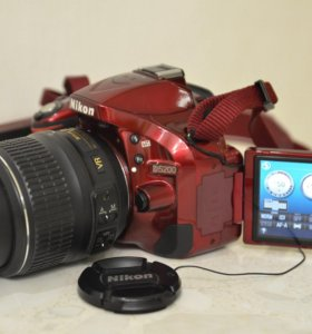Nikon D5200 18-55mm VR 24 мпикс