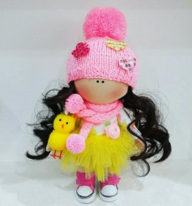 Интерьерная текстильная кукла. Кукла Тильда