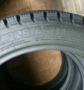 Новые шины 225/45/17 шипы 91H
