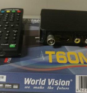 Цифровой тюнер World Vision T60M