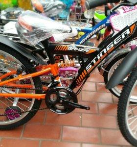 Велосипед стингер 18 скоростей