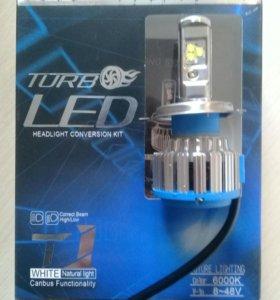 Комплект светодиодных ламп головного света H4