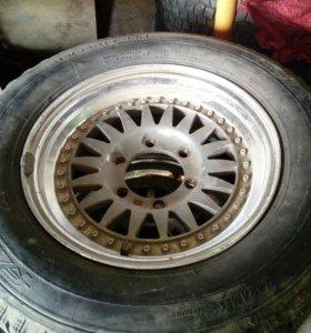 Комплект зимних шин с дисками 215*65*15