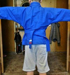 """Куртка для самбо, борцовки для самбо (""""Крепыш Я"""")"""