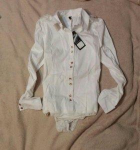 Женская рубашка-боди