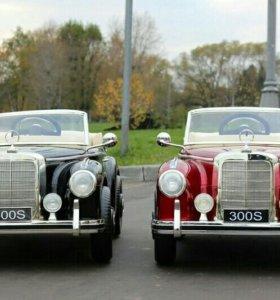 Детский лицензионный электромобиль Mercedes 300s