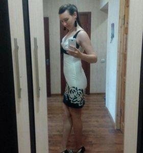 Платье выпускное (вечернее) 42-44 разм.