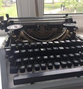 Машинка пишущая портативная, 1978 год
