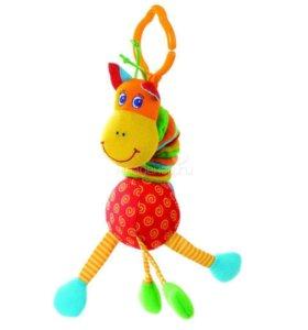 Игрушка-подвеска tiny love жираф новая