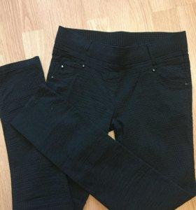 Брюки штаны Леггинсы серые 42-44