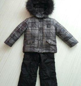 Комплект зимний + шапка