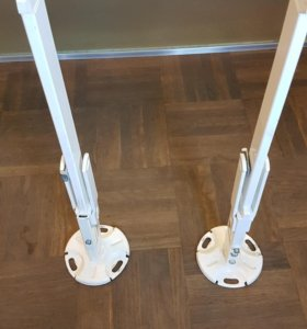 Стойки или крепления для радиатора к полу 2 шт.