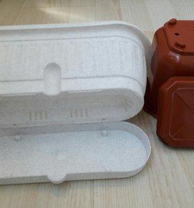 Вазоны пластик