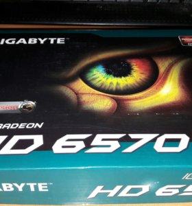 Видеокарта HD 6570 1gb / GIGABYTE