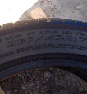 235/45 r17 Michelin