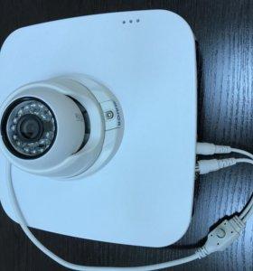 Комплект видеорегистратор + видеокамера