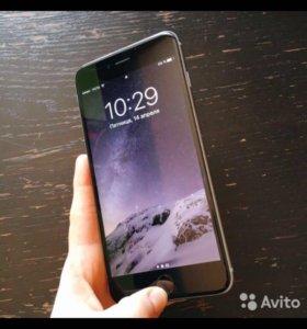 Телефон IPhone 6 plus grey