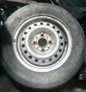 .колесо на запаску