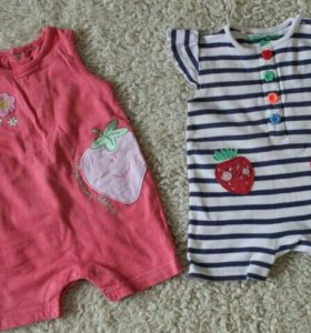 Вещи на малышку с рождения и до 3 месяцев