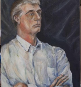 Картина портрет натурщика