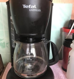 Капельная кофеварка tefal cm 4105