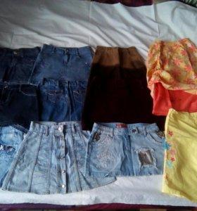 Джинсовые юбки.Всего 12 вещей!!!!