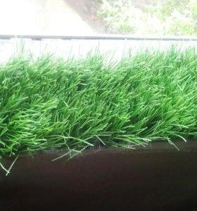 Трава искусственная 5см.для декоративной отделки