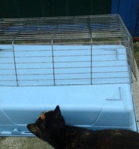 Клетка для кролика б/у