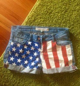 Крутые шорты джинсовые