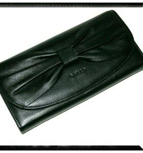 Женский кошелёк с бантом