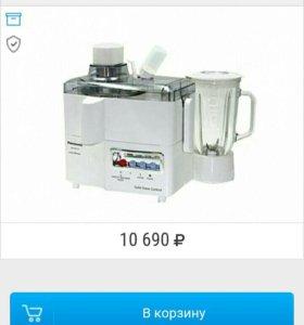 Соковыжималка блендер Panasonic MJ-171P НОВАЯ