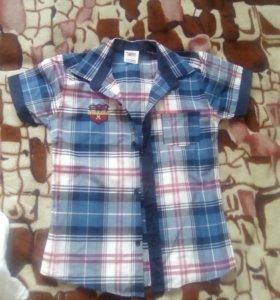 Рубашка на 10 лет